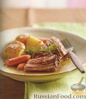 Фото к рецепту: Говядина с картофелем и розмарином