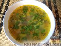 Фото к рецепту: Суп из говядины с брокколи