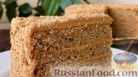 Фото к рецепту: Ореховый торт