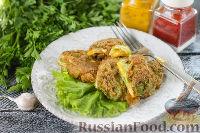 Фото к рецепту: Конвертики из молодой капусты с сыром