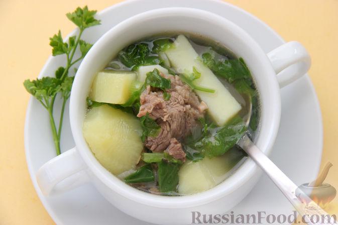 Рецепт грибного супа из баранины