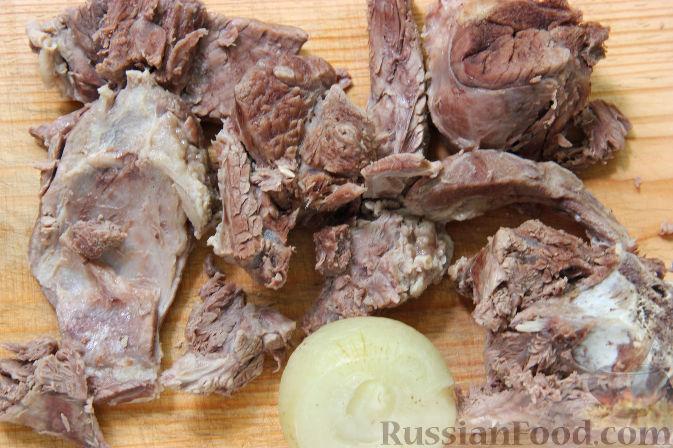 рецепт супа из баранины на кости