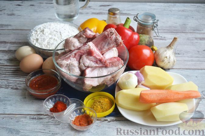 Фото приготовления рецепта: Лагман из баранины - шаг №1