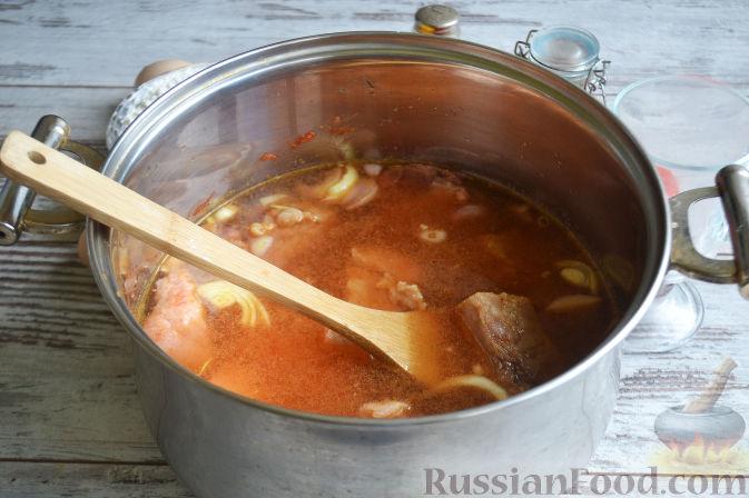 Фото приготовления рецепта: Лагман из баранины - шаг №6