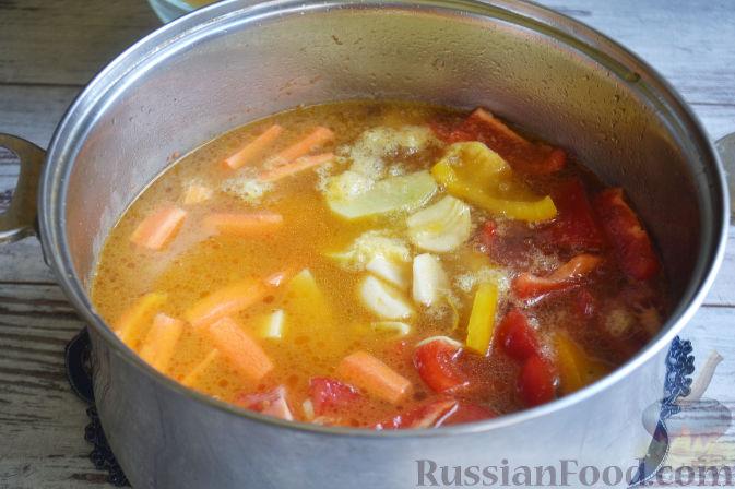 Фото приготовления рецепта: Лагман из баранины - шаг №10