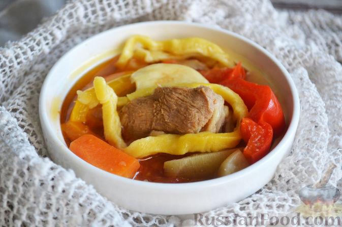 Фото приготовления рецепта: Лагман из баранины - шаг №20