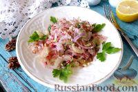 Фото к рецепту: Салат из редиса и сельдерея