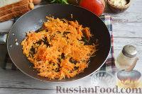 Фото приготовления рецепта: Канапе с салатом «Мимоза» - шаг №9