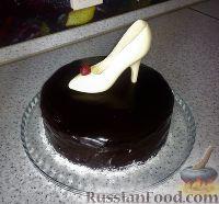 """Фото к рецепту: Бисквитный торт """"Чародейка"""""""