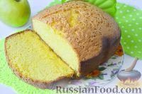 Фото приготовления рецепта: Шарлотка с яблоками (в хлебопечке) - шаг №9