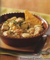 Фото к рецепту: Рагу с курицей и фасолью