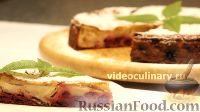 Фото к рецепту: Пирог  с яблоками и вишней