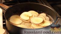 """Фото приготовления рецепта: Торт """"Букет роз"""" с яблоками и франжипаном - шаг №14"""