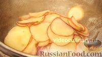 """Фото приготовления рецепта: Торт """"Букет роз"""" с яблоками и франжипаном - шаг №15"""