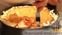 """Фото приготовления рецепта: Торт """"Букет роз"""" с яблоками и франжипаном - шаг №19"""