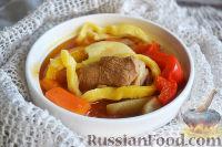 Фото к рецепту: Лагман из баранины