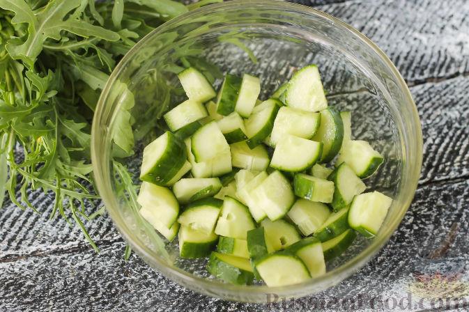 Фото приготовления рецепта: Запеканка из макарон с индейкой и сыром - шаг №2