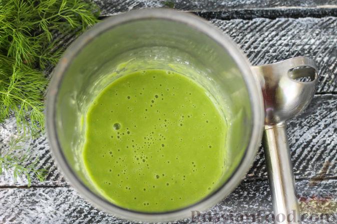 рецепт супа пюре из замороженного зеленого горошка