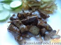 Фото к рецепту: Печень свиная, жаренная брусочками