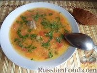 Фото к рецепту: Суп с говядиной и горохом