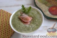 Фото к рецепту: Огуречный холодный суп с мятой