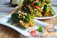 Фото к рецепту: Кимчи из огурцов