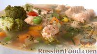 Фото к рецепту: Уха из красной рыбы
