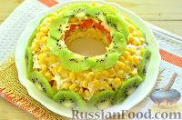 Фото к рецепту: Слоеный салат с курицей