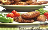 Фото к рецепту: Котлеты из рубленой капусты