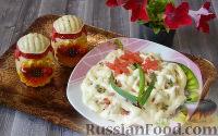 Фото к рецепту: Куриный салат с ветчиной