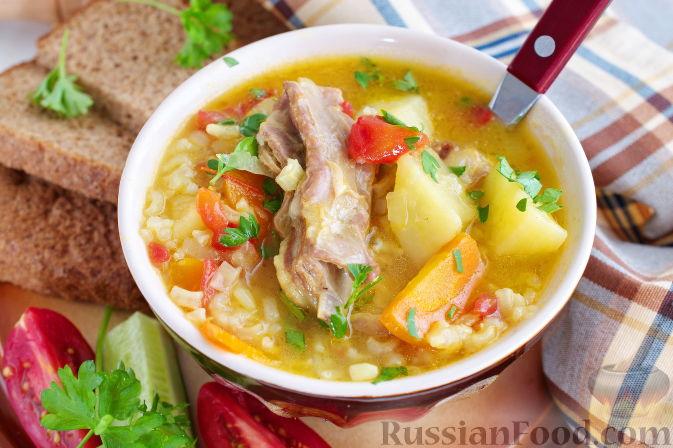 Фото приготовления рецепта: Мастава (узбекский суп) - шаг №10
