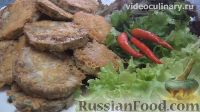 Фото к рецепту: Баклажаны, жаренные в сыре