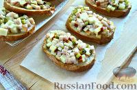 Фото к рецепту: Горячие бутерброды с колбасным сыром