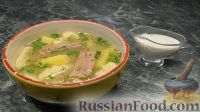 Фото к рецепту: Суп с клецками