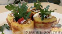 Фото к рецепту: Рулетики из кабачков