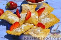 Фото к рецепту: Пирожки с клубникой
