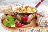 Фото к рецепту: Мастава (узбекский суп)