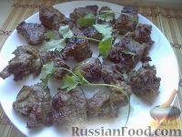 Фото к рецепту: Шашлык из говядины в кефире
