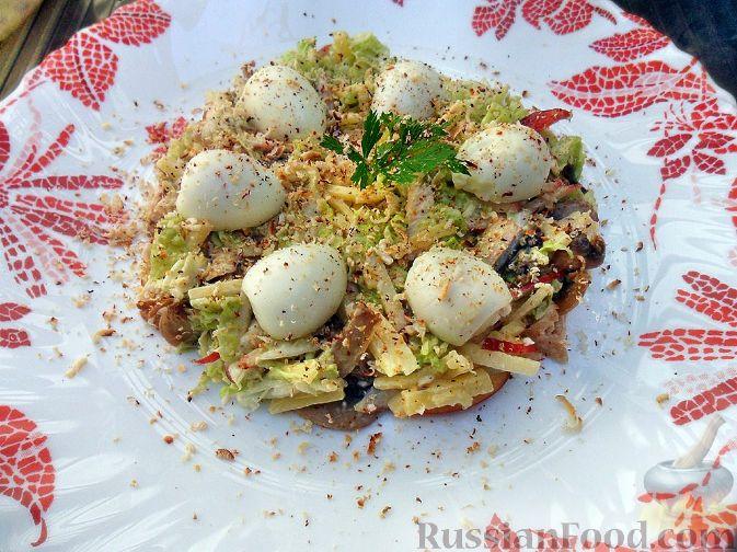 "Рецепт Салат ""Ласточкино гнездо"""