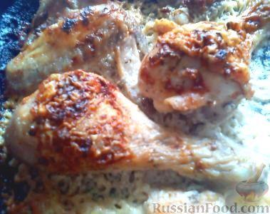 Рецепт Курица в сливочно-чесночном соусе