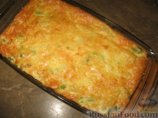 пирог с капустой заливной рецепт