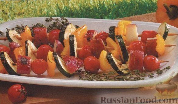Рецепт Овощи, жаренные на гриле