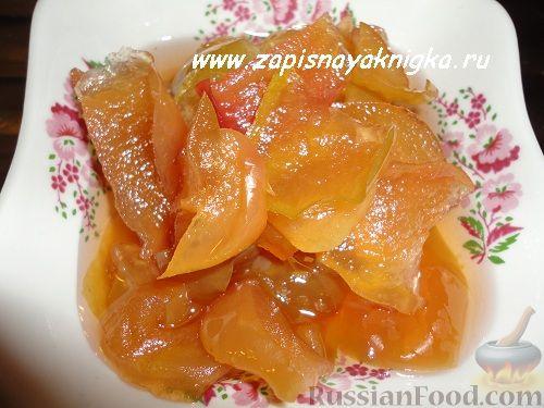 Рецепт Варенье из яблок дольками