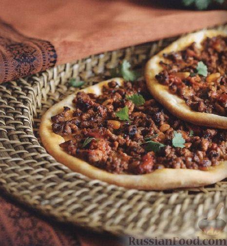 Рецепт Мини-пиццы по-турецки