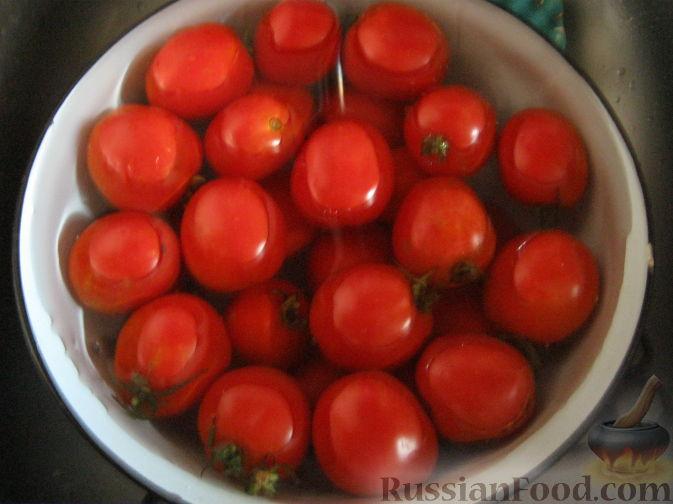 Как сделать сладкие помидоры на зиму с чесноком 196
