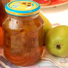 Рецепт Варенье из груш с лимончиком