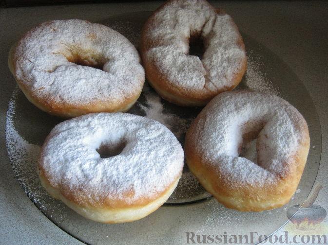 Рецепт Постные дрожжевые пончики