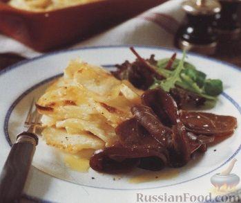 Рецепт Картофель с олениной