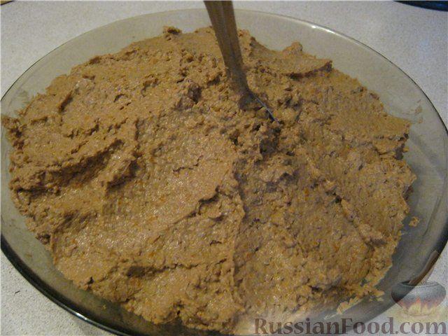 Рецепт начинки для пирожков из печени