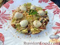 """Фото к рецепту: Салат """"Ласточкино гнездо"""""""